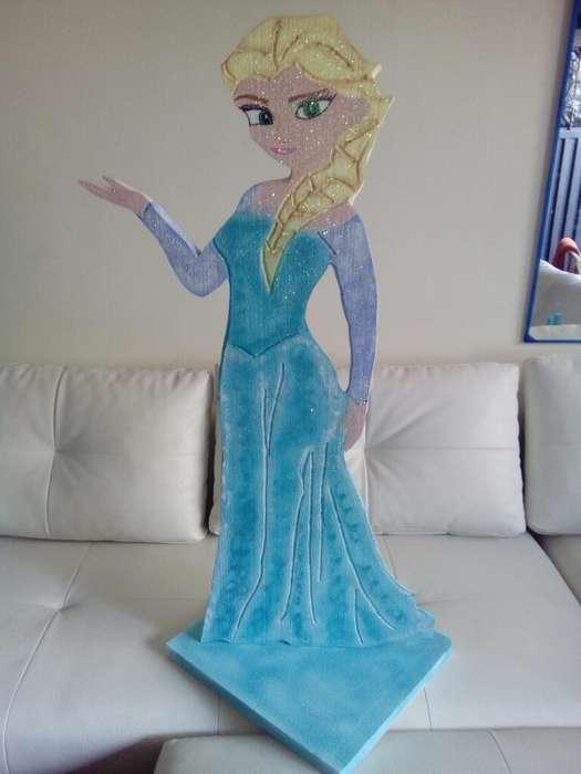 Princesa Frocen Icopor
