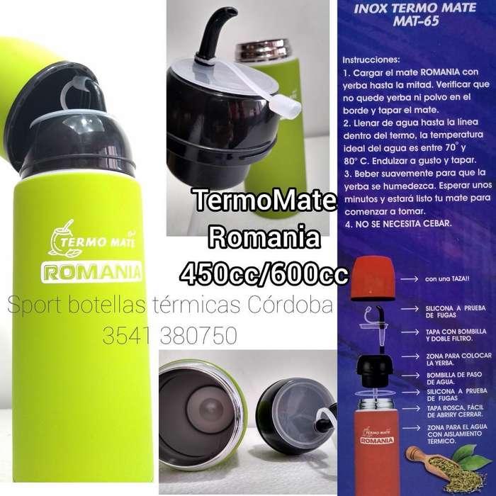 Termo Mate Romania 600cc