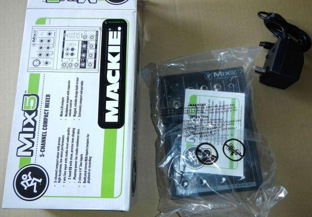 Vendo Consola Mackie Mix 5