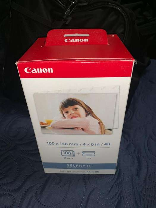 Papel Fotográfico Canon Selphy CP