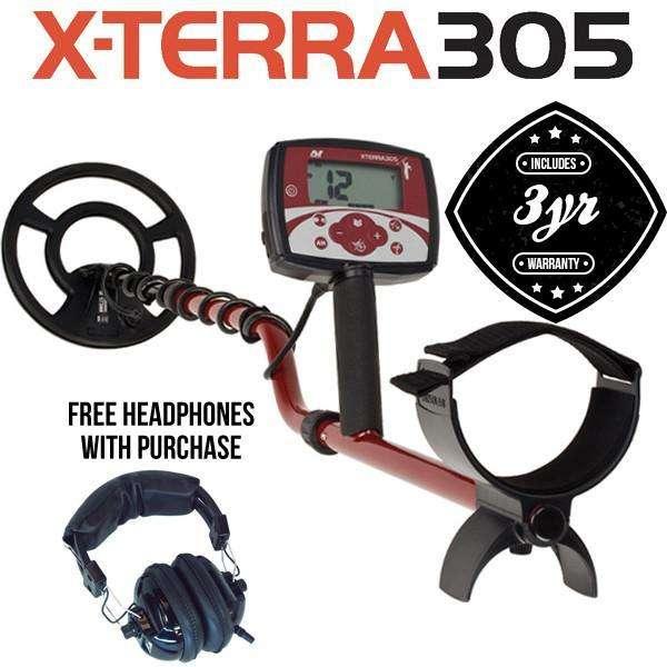 Detectores Metales XTERRA305