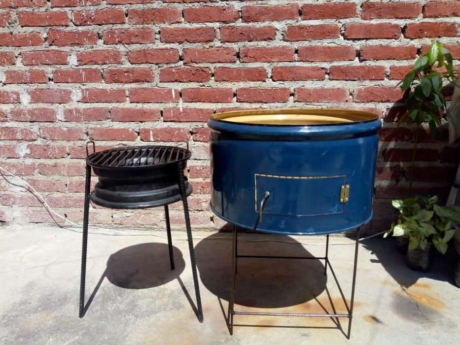chulengo tambor y bracero parrillero