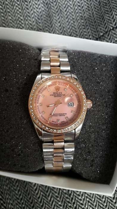 Lindo Reloj Rolex con Fechero