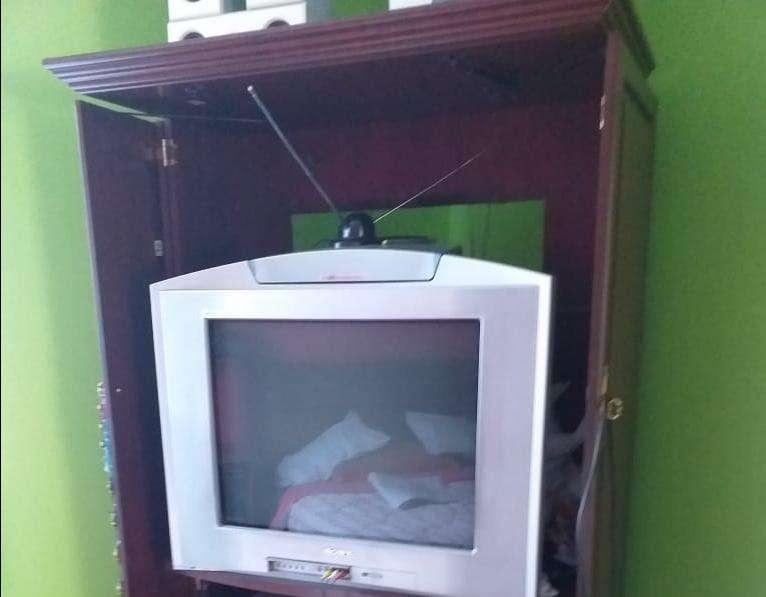 <strong>televisor</strong> trinitron con teatro en casa