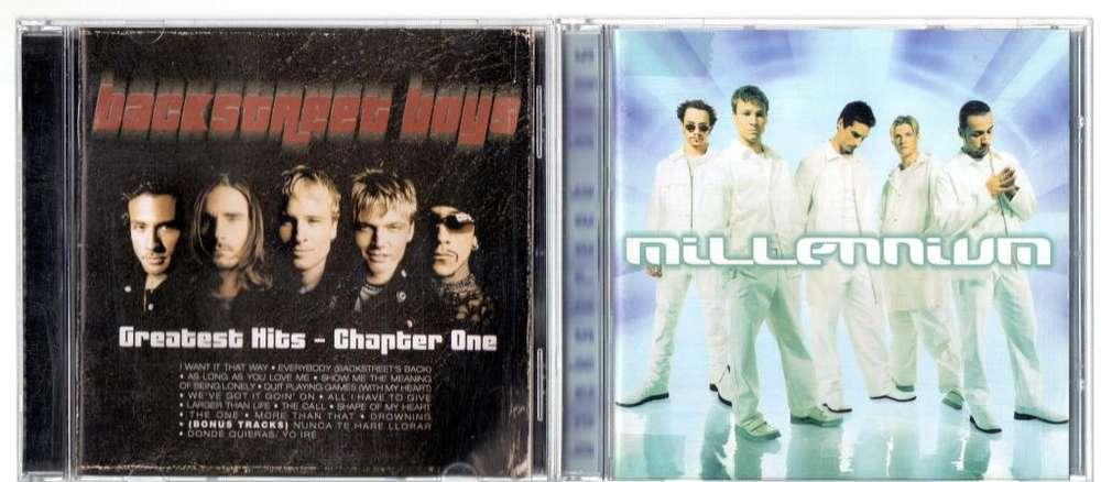 3 Cds Backstreet Boys Millennium, Greatest Hits Single