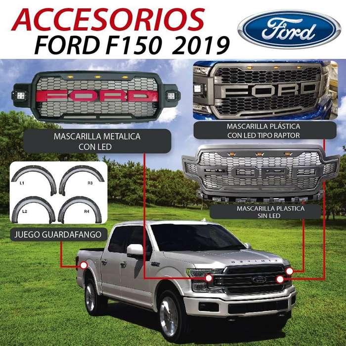 ACCESORIOS PARA <strong>ford</strong> F150 2019