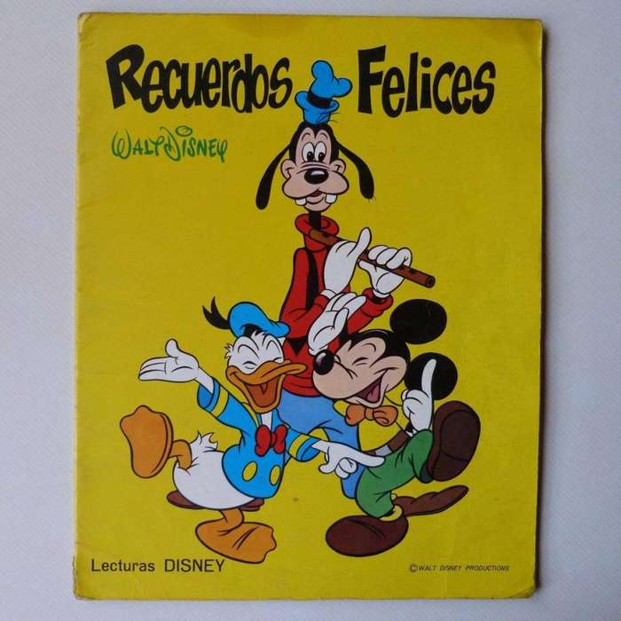 Recuerdos Felices, Disney, Ed. Susaeta 1972