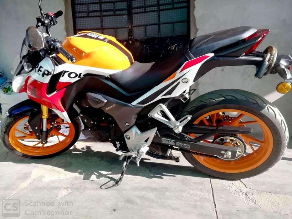 Moto Honda CB190 Repsol