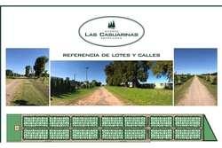 BARRIO PRIVADO  LAS CASUARINAS IBARLUCEA - PEGADO A COUNTRY LOGARITMO. LOTE DE 455