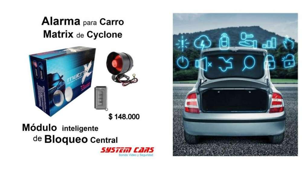 Alarma para carro Matrix módulo inteligente: bloqueo central