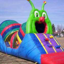 Inflable oruga