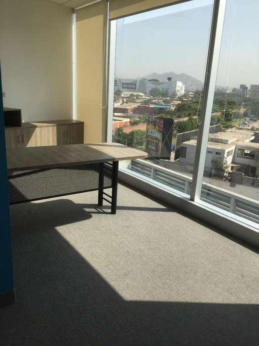 Alquiler Oficina Edificio Empresarial Equipada Moderna Surco