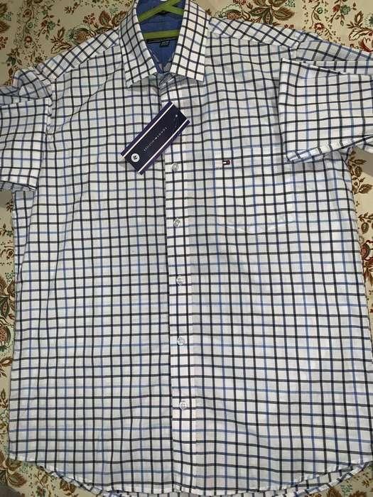 Camisas Tommy Hilfiger Talla S M L Xl