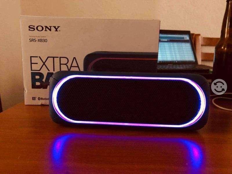 Parlante Bluetooth Sony Srs Xb30 31 Nfc Ldac Potente Extra Bass