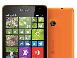 MICROSOFT (NOKIA) LUMIA 535, COLOR NARANJA, IMPECABLE,WINDOWS 10,WHATSAPP,YOUTUBE,FACEBOOK,JUEGOS 3D,5 PULGADAS HD!!