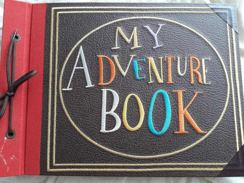 Libro album hecho a mano -MY ADVENTURE BOOK-INSPIRADO EN LA PELICULA UP