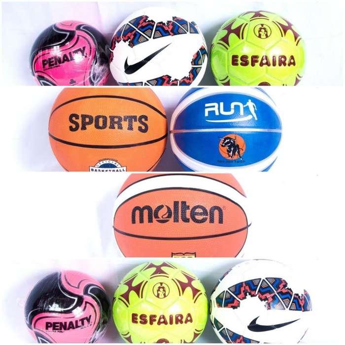 Balones de Futbol Y Basket