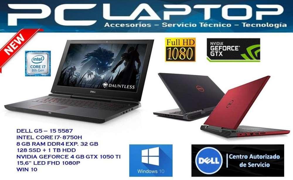 Dell G5 I7 8va 16gb 128 Ssd 1tb Gtx 1050ti 4gb 15.6 Fhd