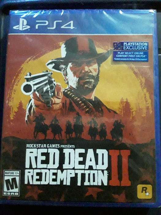 Red Dead Redemption 2 Sellado para Ps4