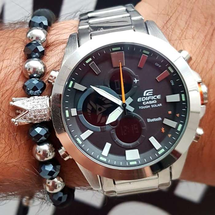 Reloj casio edifice doble hora