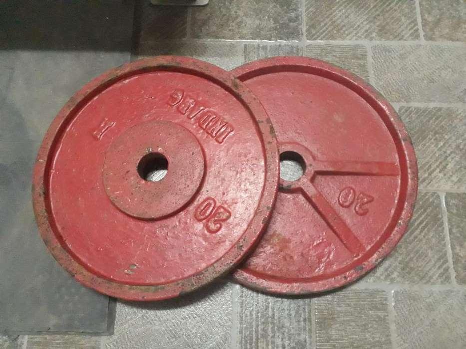 Discos Olimpicos de Fundicion de 20kg