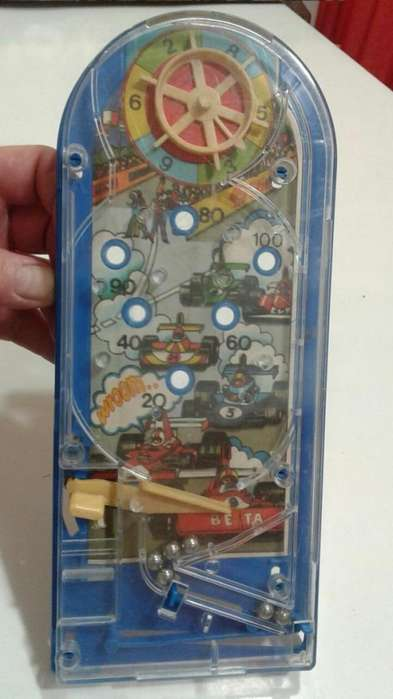 Flipper Pin Ball De Mesa Formula 1