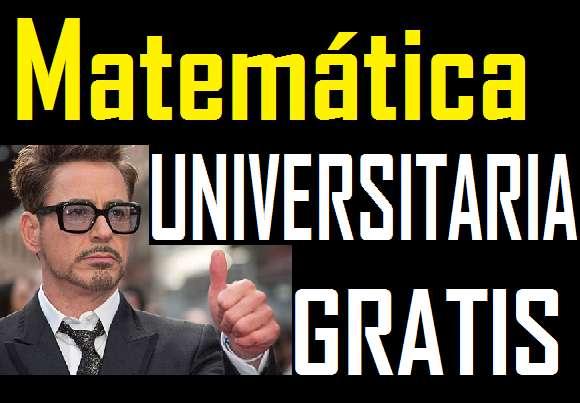 Matemática gratis , matematica de universidad - estadistica