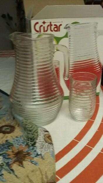 Set de jarra y vasos