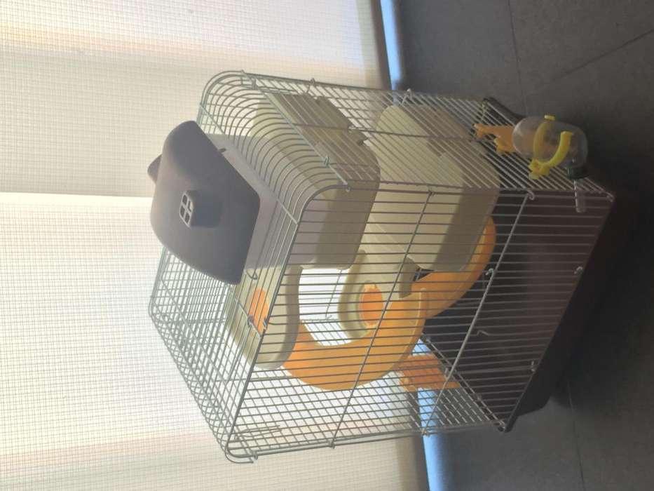 LINDA Y GRANDE <strong>jaula</strong> para hamster