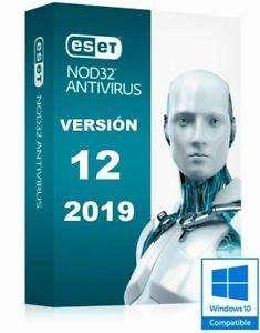 Para 3 pcAntivirus Nod32 Antiviru 3PC Original JUNIO del 2020