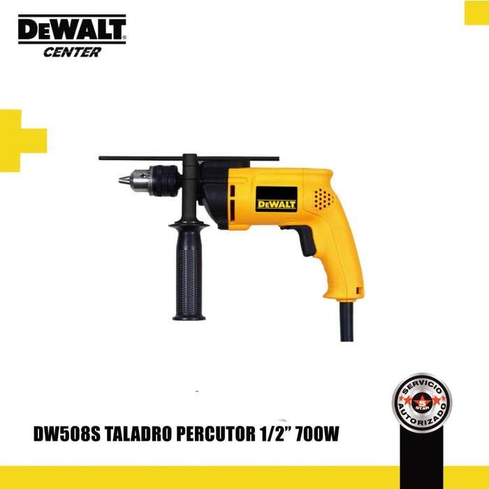 """DW508S TALADRO PERCUTOR 1/2"""" 700W"""