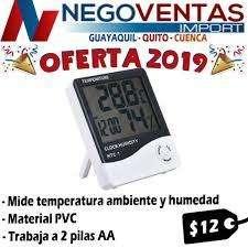 HIDROMETRO MEDIDOR DE TEMPERATURA DE AMBIENTE