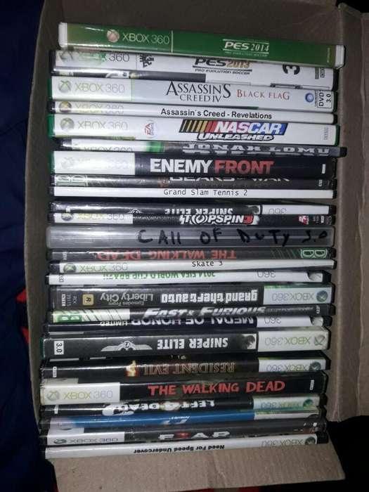 25 Juegos de Xbox360