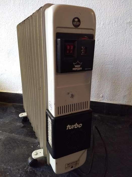 Estufa Radiador De Aceite Imperio 2250 W 12 Elementos C/vent.