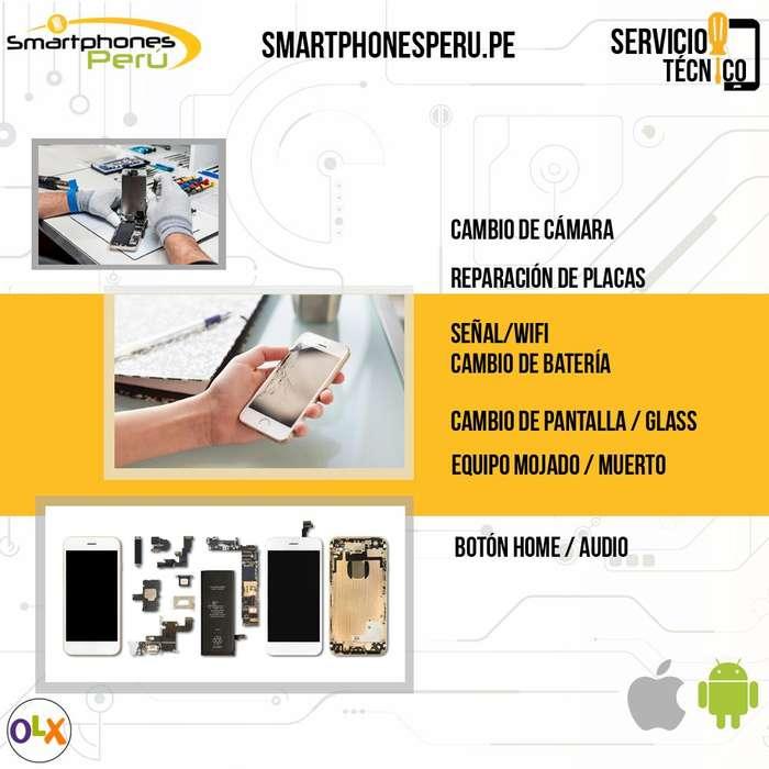 Servicio especializado en reparación de celulares en Android y Apple Samsung, Huawei, iPhone, LG, Motorola, Sony