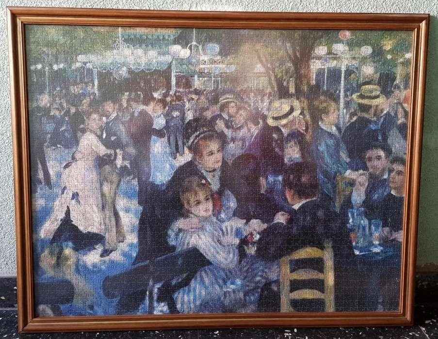 Rompecabezas o Puzzle Cuadro Armado y Enmarcado Renoir