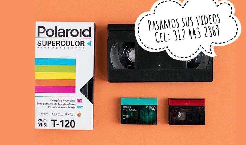 Pasar VHS a DVD Bogota, Norte, Conversion, transfer de Casetes a CD, DVD, USB y BluRAY