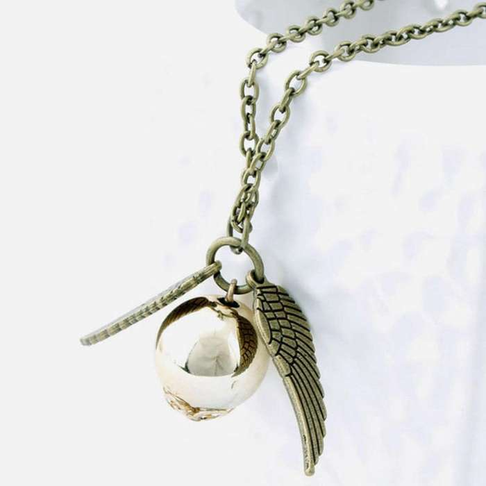 Collar Snitch Quidditch De Harry Potter