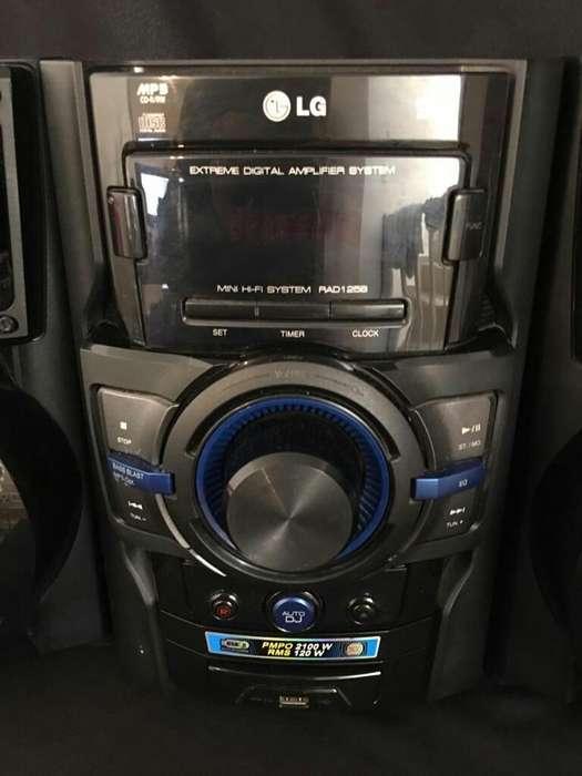 Lg Mini Hi Fi System Rad125b