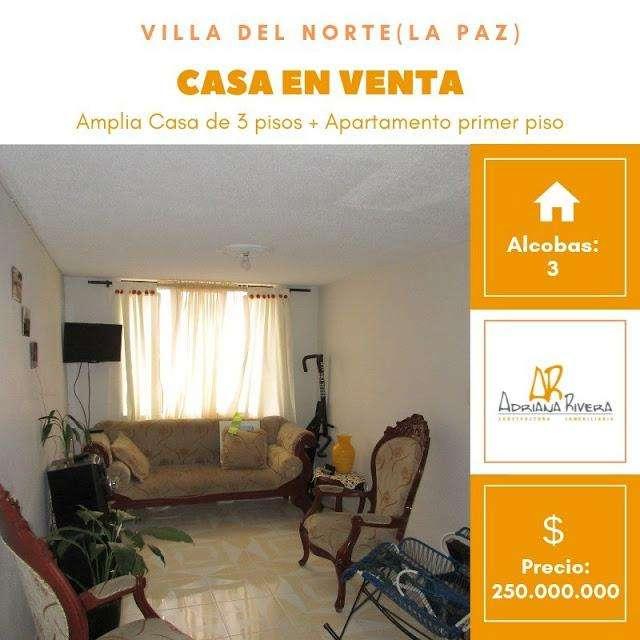 VENTA DE CASA EN VILLA DEL NORTE NORTE POPAYAN 742-1461