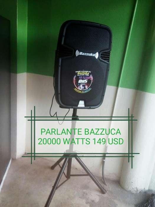 Caja Parlante Bazzuca