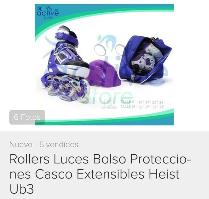 Rollers con Luces