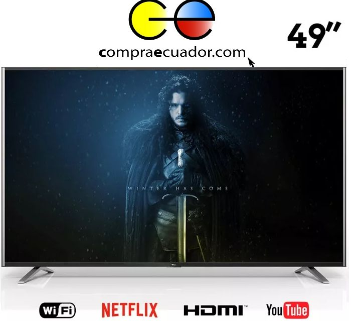 Tcl Televisor Led 49 Smart Tv Android Gratis Antena Soporte