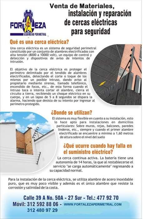 Cercas Electricas Seguridad Perimetral y Venta de MATERIALES