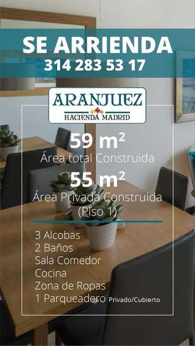 Arriendo Apartamento - Madrid - Cundinamarca - Aranjuez