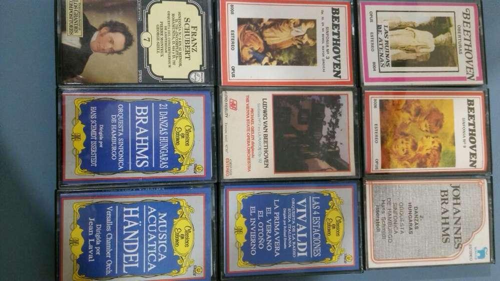 Cassetes Musica Clasica
