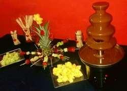 Servicio de Cascada de Chocolate con Arr
