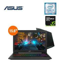 Laptop GAMER ASUS GL503GE EN138 15.6' FHD i5 8300H 12GB 1TB VIDEO 4GB 1050TI