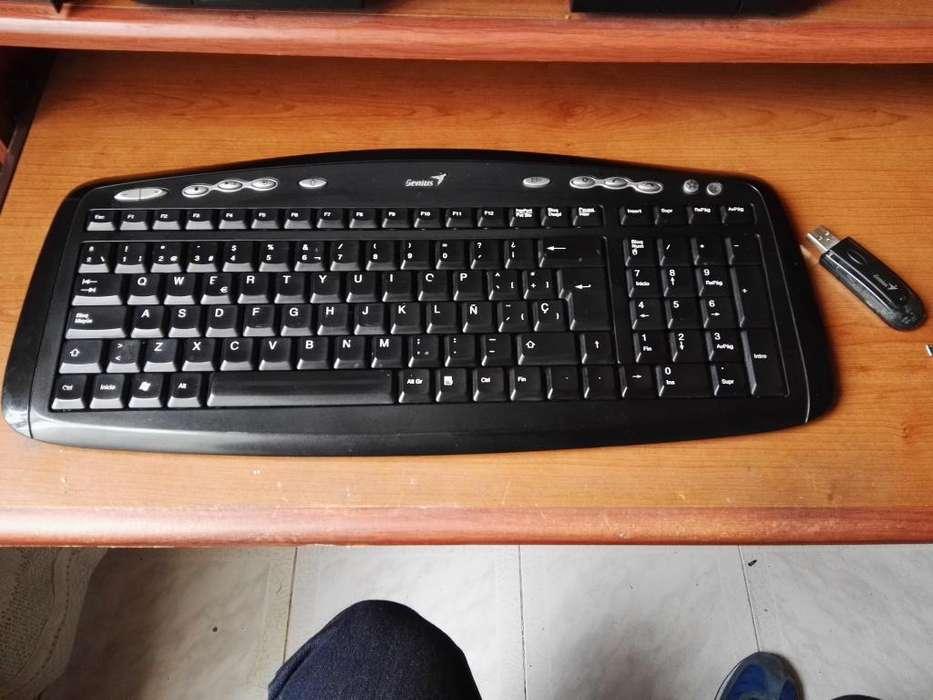 teclado inalambrico genius