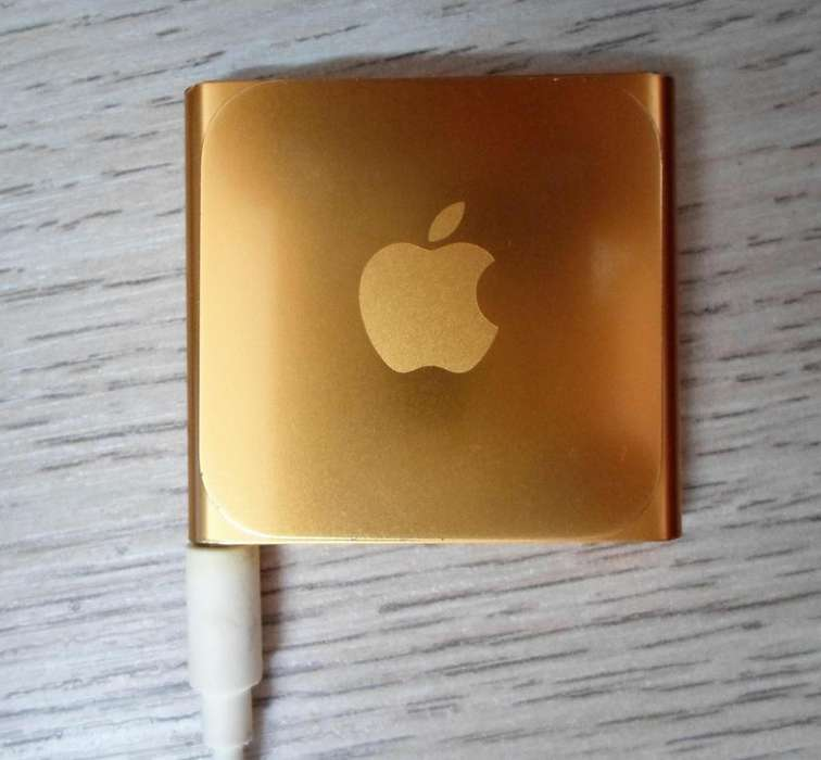 <strong>ipod</strong> nano (6ª generación) - dorado 8gb - 0 rayones